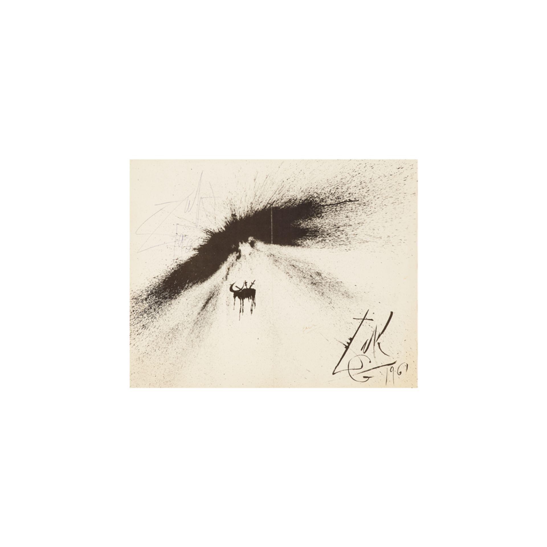 Los 37 - Salvador Dalí. Corrida de toros. Litografía.