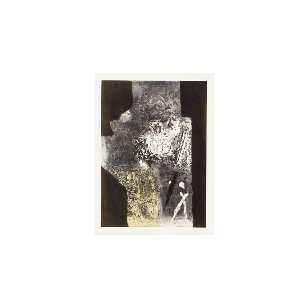 Lot 39 - Antoni Clavé. Composición. Grabado.