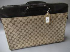 Gucci Monogram briefcase / tote bag with original dust bag