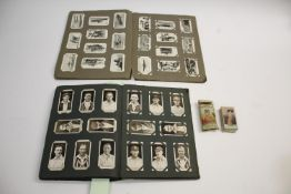 CIGARETTE CARDS in albums and in packets, including John Player Cricketers Caricatures, John Players