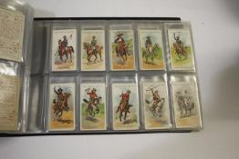 COLLECTION OF CIGARETTE CARDS including an album with various sets, John Player Footballers 1928,
