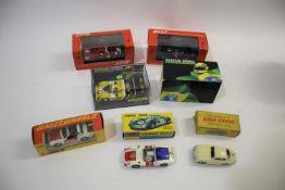 CORGI TOYS including a boxed Whizzwheels 509 Porsche Targa Police Car, a boxed 330 Porsche Carrera 6