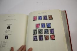 STAMP ALBUMS & FIRST DAY COVERS including a partially completed Windsor Album with QE II mint stamps