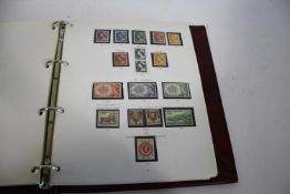 AUSTRALIAN STAMP ALBUMS 4 Stanley Gibbon stamps albums including mint stamps and blocks 2008-2011,