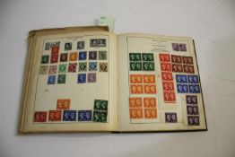 STRAND STAMP ALBUM including 19thc and 20thc GB content, including some blocks of mint stamps
