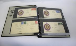FIRST DAY COVERS & STAMP ALBUMS including 3 albums of First Day Covers, including one album with