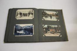 POSTCARD ALBUMS - JAPAN 2 albums with various Japanese cards (various figures, Daibutsu Hyogo,