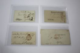 STAMP COLLECTION & POSTAL HISTORY various stamps in album, 3 stock books and on cards including