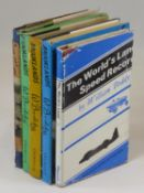 The Story of Brooklands by W. Boddy. A three volume 1st edition dating from 1948, 1949 and 1950,