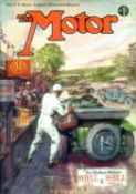 The Motor: 1920 to 1929 - 31 issues. Most rather soiled and without their covers, except where