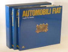 Automobili F.I.A.T. by Angelo Tito Anselmi. Published in 1986 by Libreria dell'Automobile, a two