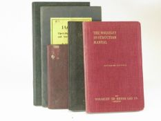 Five Operating Handbooks. Jaguar XK120 Sports model and FDC, 60pp; Leyland WO Subsidy Model Class A,
