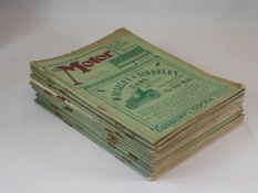 The Motor: 1902 to 1905 - 19 Issues. In sound condition, and all with their covers, comprising