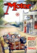 The Motor: 1930 to 1939 - 177 issues. All with their (mostly) good, clean covers except one issue
