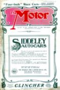 The Motor: 1908 to 1914 - 22 issues. All rather soiled, but nearly all with their covers, comprising