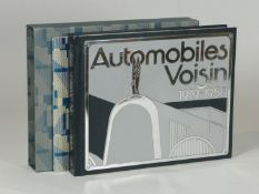 Automobiles Voisin 1919-1958 by Pascal Courteult. A White Mouse publication of 1991, being a