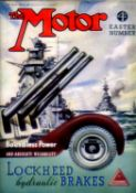 The Motor: 1940 to 1947 - 187 issues. All with their covers, and comprising 31 issues from 1940;