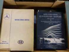 Mercedes-Benz. Various titles, to include a rare Press-Information for the 1938 Donington Grand
