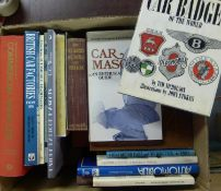 Reference Material. Car Badges of the World; Car Mascots by Sultzburger; Automobilia by Gardiner &