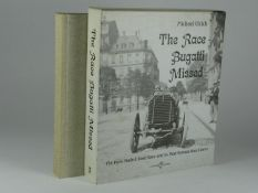 The Race Bugatti Missed by Michael Ulrich. 403pp, 2005 1sr edition 'The story of the 1903 Paris-