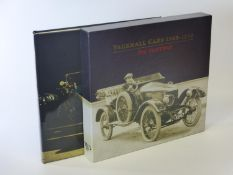Vauxhall Cars 1913-1918 by Nic Portway. New Wensum Publishing, 2006. Numbered 27 of the 850 copies