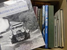 British Motoring. The Golden Age of British Motoring by Roy Bacon, a 1995 1st edition of this '