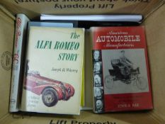 Alfa Romeo Tipo 6C by Angela Cherrett, in good condition, The Alfa Romeo Story by Wherry; together