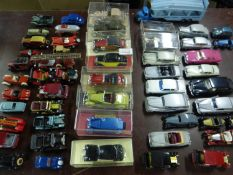 A Collection of Model Motorcars. Comprising an assortment from various periods and types, to include