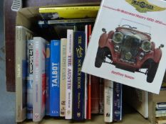British Marque Histories. A good selection of books covering standard British makes, to include: