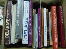 Delage - Delahaye. A selection of large format books: Delahaye Le Grand Livre; Delage La Belle