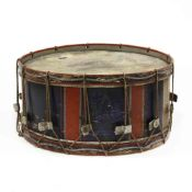Large Antique Marching Bass Drum