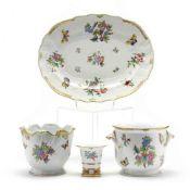 "Herend ""Queen Victoria"" Porcelain Group"