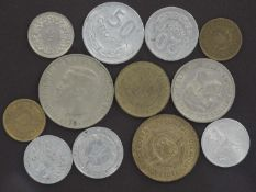 Lot of coins from Europe. Please visit.
