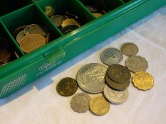 Lot of coins, all the world. Mostly African countries. Maybe treasure trove? Please visit!