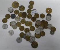 1 lot of emergency coins and tokens. Please visit!