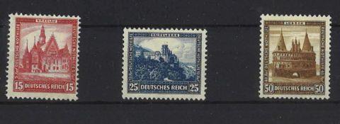 German Empire 1931, Michel No. 459-462, catalog price 240 euros