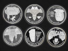 Lot of medals, all encapsulated. Condition: PP. Please visit.