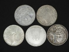 FRG Lot 10.- DM - silver coins. Condition: XF. Please visit.