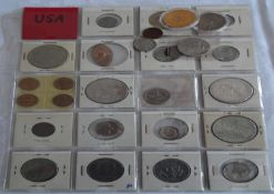 USA, Lot of coins, tokens and medals. Please visit.
