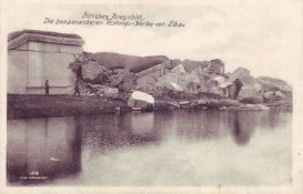 "Russia 1916, picture postcard 1st WW Eastern war picture, ""The bombproof fortress - works of"