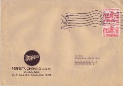 Berlin 1954, Michel - no. 116 as multiple franking on cover from Berlin to Munich, Berlin -