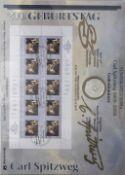 Sammlung Numisblätter, alle Münzen vorhanden. Bestehend aus: 1 - 5 / 2008, 1 - 6 / 2009, 1 - 6 /