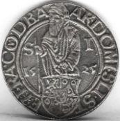 Kopie des Joachimtaler. Gewicht: ca. 23,8 g. Copy of the Joachimtaler. Weight: approx. 23,8 g.