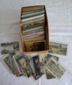 1 Lot Postkarten, viele Vorkriegskarten, dabei auch schöne Berlin, aber auch Neuere, bitte