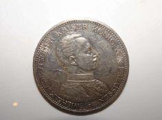 5 Mark Preussen 1914 A 5 Mark Prussia 1914 A