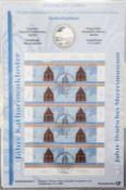 Sammlung Numisblätter, alle Münzen vorhanden. Bestehend aus: 2/2001, 3-5 / 2004, 1 - 5 / 2005 +