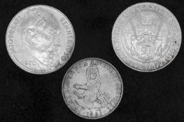 Österreich 1963/72, 2 x 50.- Schilling und 1 x 25 Schilling - Silbermünzen. Austria 1963/72, 2 x 50