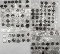 Deutschland, Lot Kleinmünzen, Altdeutschland, Kaiserreich, Weimarer Republik, Drittes Reich, BRD.