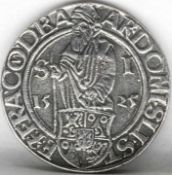 Kopie des Joachimtaler. Gewicht: ca. 28 g. Copy of the Joachimtaler. Weight: approx. 28 g.