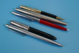 Collection of pens to include Parkers